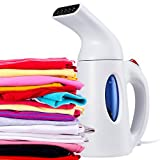 Home Garment & Fabric Handheld Steamer, Travel Size Ideal for Clothes, Curtains,...