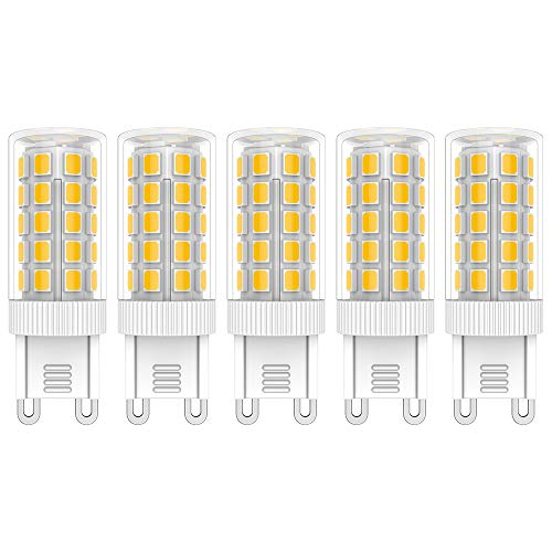 5X G9 LED Lampadina 5W Lampadine LED Bianco Caldo 3000K 44 SMD 2835LEDs Luce Lampada Risparmio Energetico 450LM LED Lamp AC220V-240V