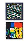 Happy Socks - Caja de regalo Calcetines The Beatles 3 pares XBEA08-0100 36/40 Mujer