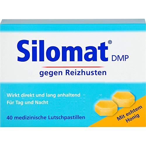 Silomat DMP gegen Reizhusten Lutschpastillen Honiggeschmack, 40 St. Pastillen