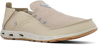 Columbia Men's PFG Bahama Vent Loco Iii Shoe Walking, Ancient Fossil/Steel, Numeric_7 Wide