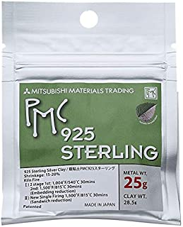 pmc sterling silver clay
