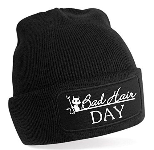 Bonnet Bad Hair Day - Noir -