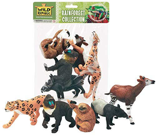Wild Republic Polybag Rainforest 5Piece (53529)