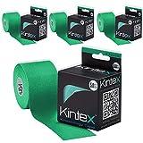 Kintex 4rollos de cinta de kinesiología 5m x 5cm Varios...