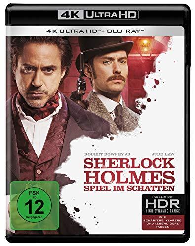 Sherlock Holmes - Spiel im Schatten (4K Ultra HD) (+ Blu-ray 2D)