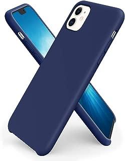 ORNARTO Liquid Silicone Case for iPhone 11, Slim Liquid Silicone Soft Gel Rubber Case Cover for Apple iPhone 11(2019) 6.1 inch-Royal Blue