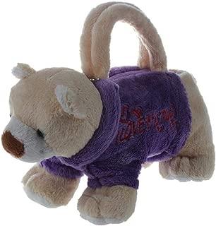 3D Dog Bags Kid Toys Handbag Plush animal handbag cute children school bag Handbag Christmas birthday gift