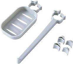 Opbergplank voor de badkamer Opslag Rack Multifunctionele Opslag Rack Opslag Rack Sink Sponge Rag Drain Rack Gecombineerd ...