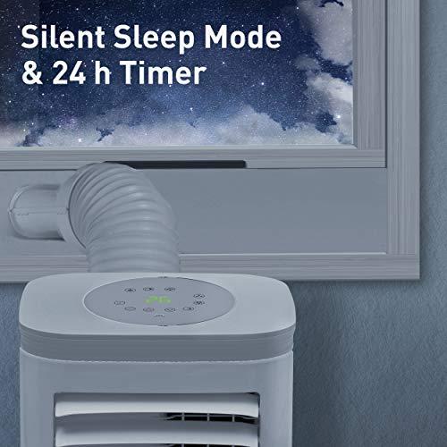 SUNTEC Climatizzatore mobile locale Freeze 9.000 Eco R290   per ambienti fino a 80 m3 (34 m2)   incl. tubo di scarico   Refrigeratore e deumidificatore con refrigerante ecologico R290   9.000 BTU/h
