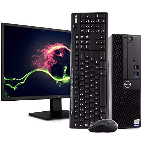 Dell OptiPlex 3050 PC Desktop Computer, Intel i5-6500 3.2GHz, 8GB RAM, 1TB HDD, Windows 10 Pro, New 23.6' FHD LED Monitor, New 16GB Flash Drive, Wireless Keyboard & Mouse, DVD, WiFi (Renewed)