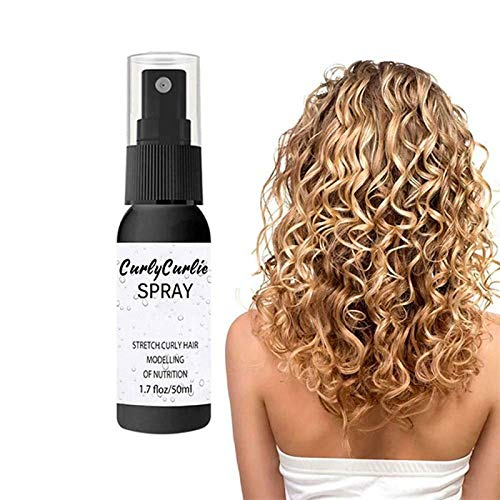 Spray para el Cabello, 3 PCS Fluffy Volumizing Pein House Spray, Curl Boost Definiendo Crema Reparación de Pelo Bounce, Estilista Recomendado Volumen de Hairo y Texturizing Playepray-50 ml