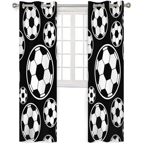 XUJIAHUI - Cortinas con ojales personalizadas, con aislamiento térmico, para sala de estar, dormitorio, decoración de ventana, cortinas de 2 paneles de 2 paneles
