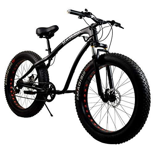LYzpf Bicicleta de Montaña MTB 26 Pulgadas Aleación Marco Más Fuerte Freno Disco para Hombre Adulto Mujer Estudiante