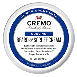 Cremo Citrus Mint Leaf Cooling Beard and Scruff Cream, Moisturizes, Styles and Reduces Beard Itch for All Lengths of… 11