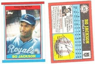 bo jackson topps 1989