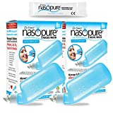 Dr. Hana's Nasopure Nasal Wash | Two System Kits | The Nicer Neti Pot - Nasal Symptoms of Allergies, Cold, Flu,& Sinusitis - Fast All Natural Relief - Nasal Irrigation/Nasal Hygiene