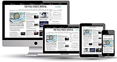 Wall Street Journal Subscription WSJ 2 Year Digital Only New & Renewals 2 Day Start