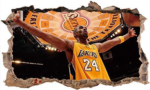 Nensuo 3D York Knicks NBA Basketball Home Decor Art Wall Vinyl PVC Sticker 60 * 90CM-C_40*60CM