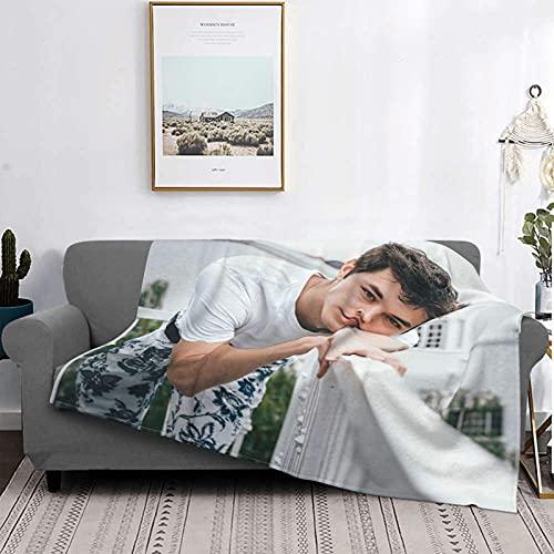 Griffin Johnson Ultrasoft Micro Fleece Blanket Suave, Felpa, Manta cálida para Todas Las Estaciones, Manta para sofá Cama de Viaje Mantas de Cama Reversibles 80 'x 60'