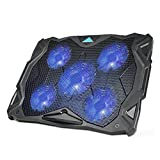Laptop Cooling Pad, TeckNet USB Powered Silent Gaming...