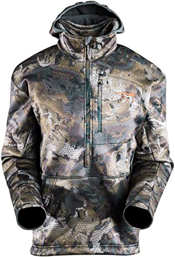 SITKA Gear Men's Gradient Fleece Insulated Performance Hunting Hoody, Optifade Timber, Large