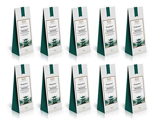 Ronnefeldt - Morgentau - Aromatisierter Grüner Tee, 10 x 100 g (1000 g)