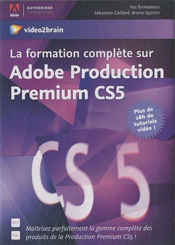 La formation complète sur Adobe Production Premium CS5 - Maîtrisez parfaitement la gamme complète des produits de la Production Premium CS5 ! Plus de 28h de tutoriels vidéo !