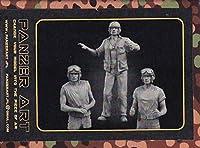 パンツァーアート 1/35 FI35-059 USMC (PTO) late tank crew (3 figures)