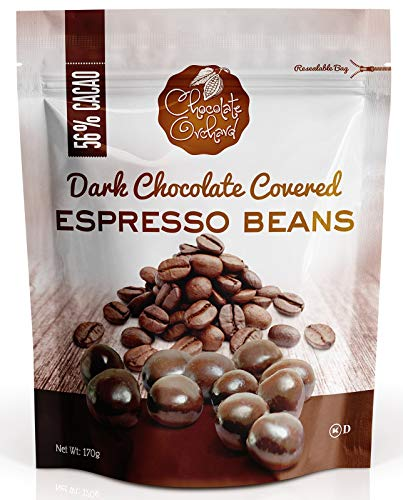 Chocolate Orchard Fruit & Delicious & Fresh Flavor (Chocolate Covered Espresso Bean, (6oz)