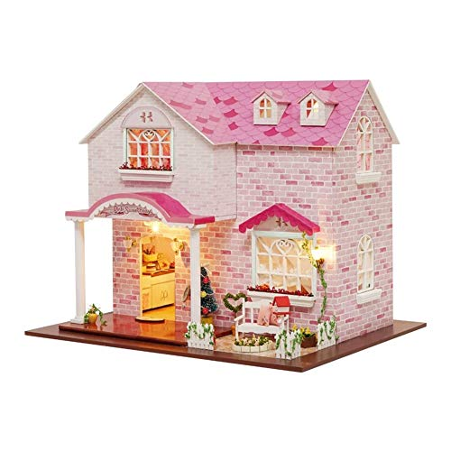 Syxfckc DIY Kinderspielzeughaus, 3D-Assembled Loft Miniatur, sehr realistisch und Ingenious Entwurf, volle...