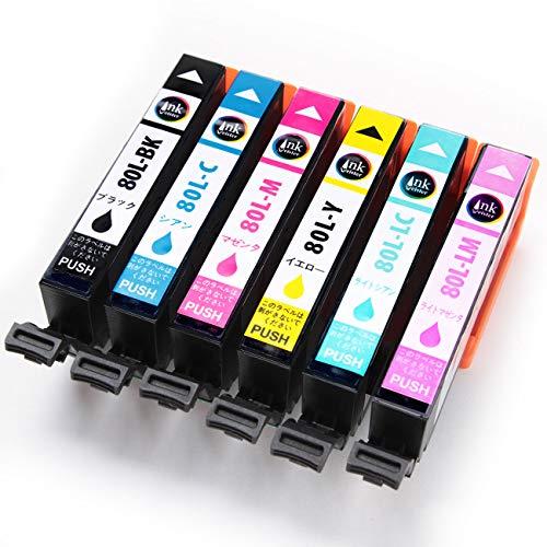 エプソン IC6CL80L インクカートリッジ 【 6色パック 大容量 】 EPSON とうもろこし IC80 (BK/C/M/Y/LC/LM) IC80L 残量表示対応 最新ICチップ 互換 インク インクタンク <対応機種> カラリオ EP-707A EP-708A EP-777A EP-807AB EP-807AR EP-807AW EP-808AB EP-808AR EP-808AW EP-907F EP-977A3 EP-978A3 EP-979A3 EP-982A3 【InkMeister】