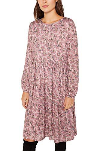ESPRIT Damen 119EE1E018 Kleid, Rosa (Old Pink 680), (Herstellergröße: 38)