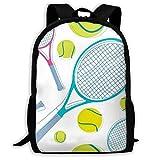 LVOE TTL Sac à Dos d'école, Tennis Pingpong Sac d'école étudiant...