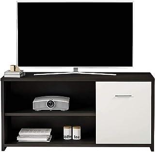 soporte de TV oficina en sala de estar BHEU-JYB-DSG01-BK 118 x 40 x 59 cm nogal negro caja de cable consolas de juegos sala de entretenimiento consola de TV sogesfurniture Mueble de TV