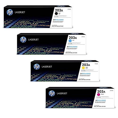 HP Color LaserJet Pro M254nw original Tonerkit 203A CF540A CF541A CF542A CF543A