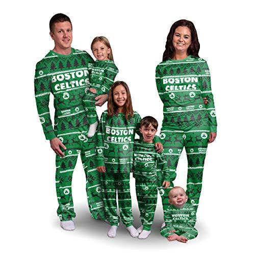 Boston Celtics NBA Family Holiday Pajamas - Womens - S