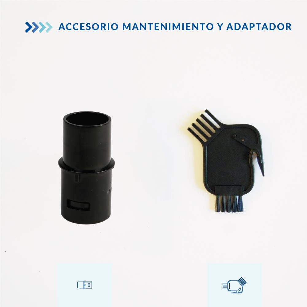 SAMBA Kit Accesorios Aspirador Inalámbrico para Aspiradoras Escoba Aspira Pro, Cepillo Suave, Manguera Extensible, Tubo Extensible, Cepillo Suciedad difícil, Accesorio Mantenimiento y Adaptador: Amazon.es: Hogar