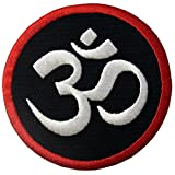 Símbolo budista Paz interior Parche Bordado de Aplicación con Plancha
