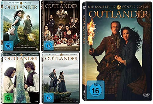 Outlander - Die komplette Season / Staffel 1 - 5 (1+2+3+4+5) im Set - Deutsche Originalware [26 DVDs]