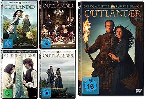 Outlander - Die komplette Season / Staffel 1 - 5 (1+2+3+4+5) im Set - Deutsche Originalware [26 DVDs]