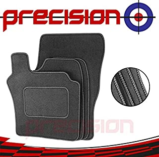 2002-2006 Tailored Fitted Grey Car Mats Toyota Yaris 5dr