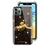 ZENGMING The Little Prince Cute Fox Case For Apple iPhone Clear Soft Airbag Anti Phone Cover A12 For Funda iPhone 11 Pro
