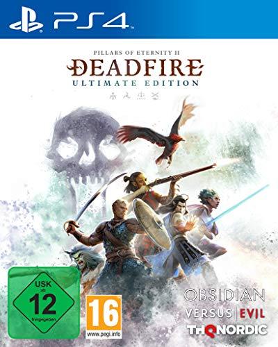 THQ Pillars of Eternity II: Deadfire, PS4 Jeu vidéo Playstation 4 Basique Pillars of Eternity II: Deadfire, PS4, Playstation 4, RPG (Role-Playing Game), M (Mature)