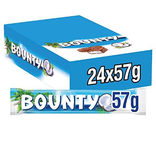 Bounty intero, confezione da 24(24x 57g)