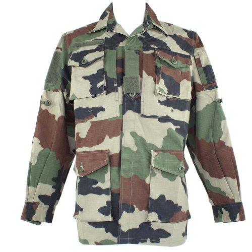 Chemise guerilla Ripstop Miltec camouflage centre-europe
