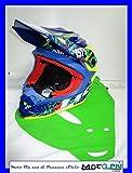 UFO casco de Motocross Enduro motard Todoterreno Onyx Circus 2018Talla XL 61–62gialloblu