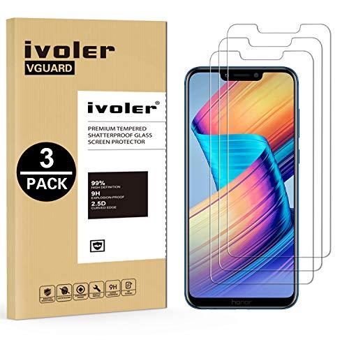iVoler [3 Pack] Pellicola Vetro Temperato per Huawei Honor Play, Pellicola Protettiva, Protezione per Schermo