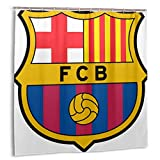 Barca Surabaya Indonesia Feb 2018 Barcelona FC Professional Football Club con sede en Cataluña España Marca, Decoración del hogar Cortina de Ducha 60inX72in