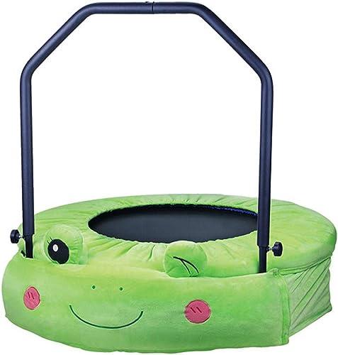 calidad de primera clase LKFSNGB Trampolín Trampolín Trampolín para Niños - Tubo de Acero de 25  1,5 mm - Mini trampolín para Niños con manija de Seguridad para Interiores, Adecuado para Niños y niñas  centro comercial de moda